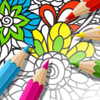 Icona di Adult Coloring Book With Multiple Templates & Colors