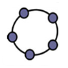 Icon of GeoGebra for Windows 8