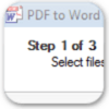 PDF to Word logo