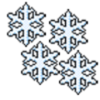 Icona di Snowflakes Screensaver