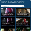 Icona di Tube Downloader for Windows 8