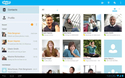 Screenshot di Skype - free IM video calls APK
