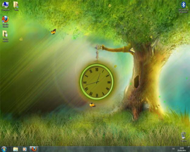 Fantasy Clock Animated Wallpaper Download Gratis