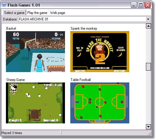 Download and play free flash games offline.