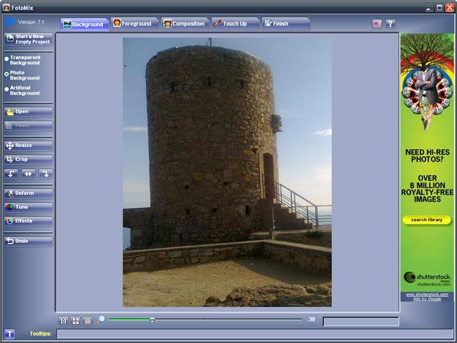 programma per fotomontaggi gratis italiano