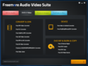 Screenshot 2 of Freemore Audio Video Suite 3.2.2
