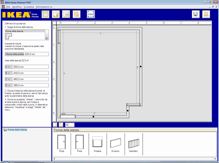 Software per disegnare cucine eccezionale programma per for Software gratuito per il layout del garage