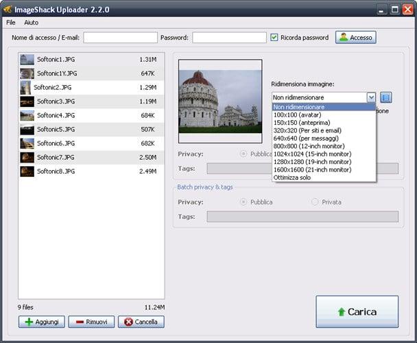 IMAGESHACK UPLOADER 2.2.0 TÉLÉCHARGER