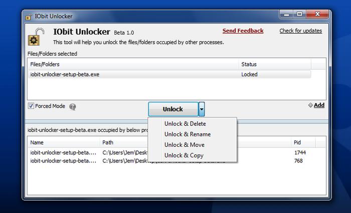 IObit Unlocker - Download Gratis