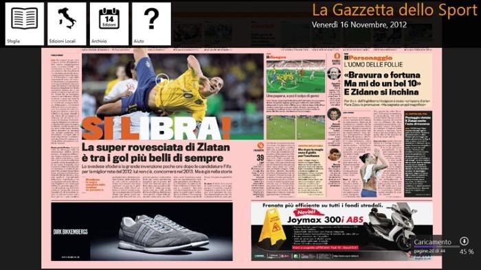 La Gazzetta Dello Sport Per Windows 10 Download Gratis