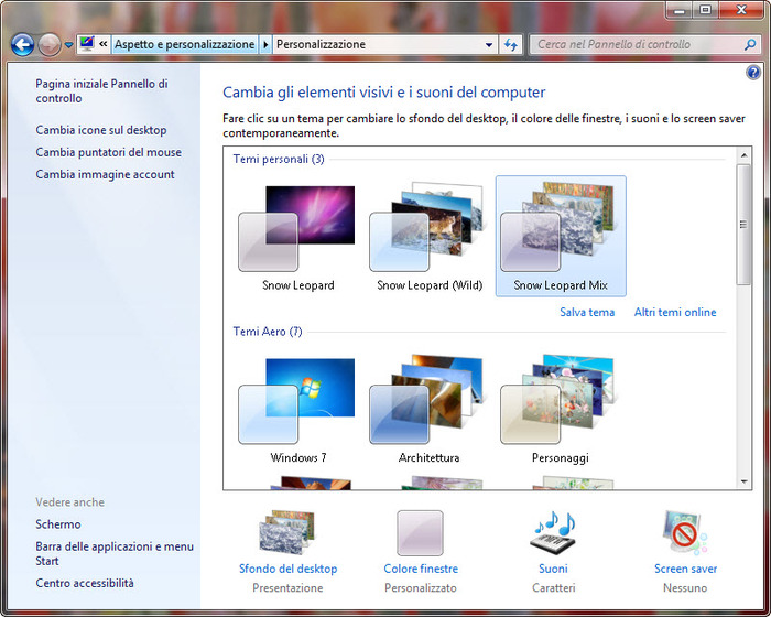 puntatori mouse gratis per windows 7