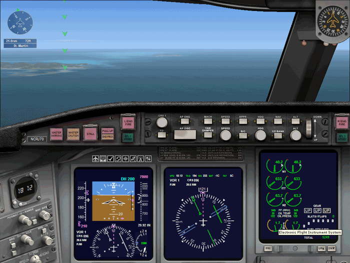 aerei flight simulator x