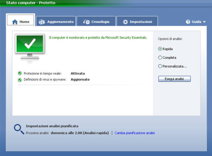 Microsoft security essentials 4. 10. 0219. 0 free download.