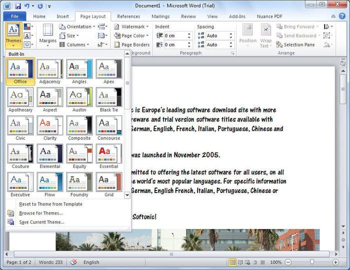 how to take a screenshot with microsoft word 2010