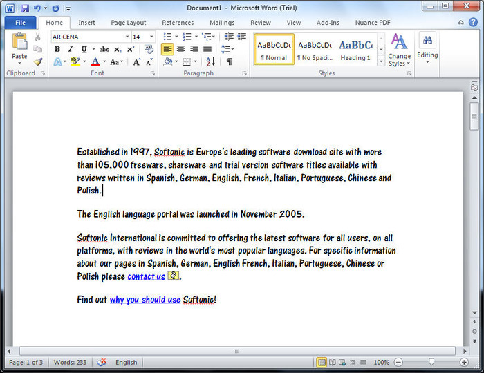 Microsoft word download gratis.