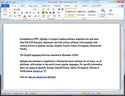 Screenshot 1 of Microsoft Word 2010