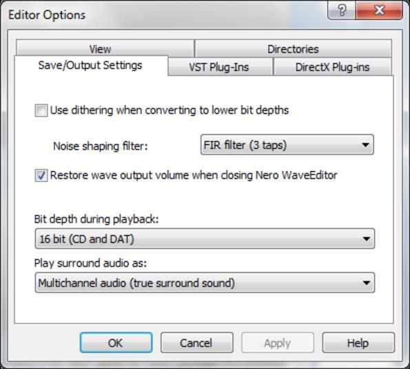 nero wave editor offline installer