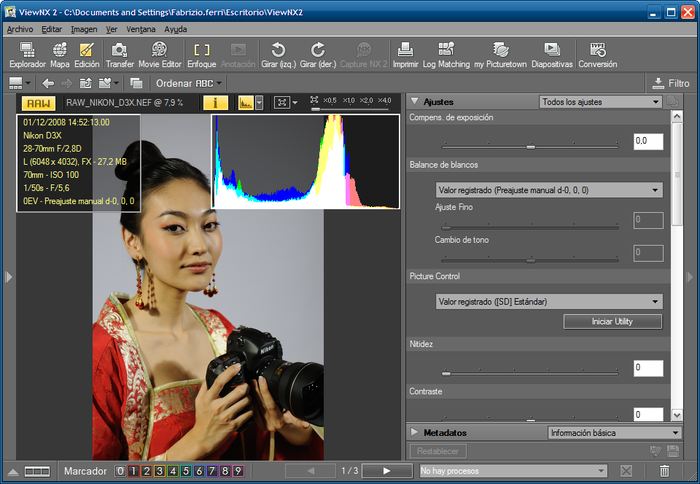 Nikon capture nx-d raw processing software | software for nikon.