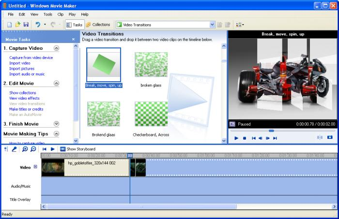 windows movie maker vecchia versione