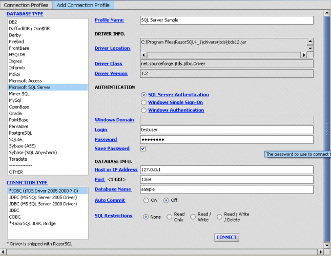 RazorSQL Portable - Download Gratis
