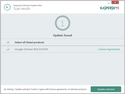 Screenshot 8 of Kaspersky Software Updater 2.0.0.623