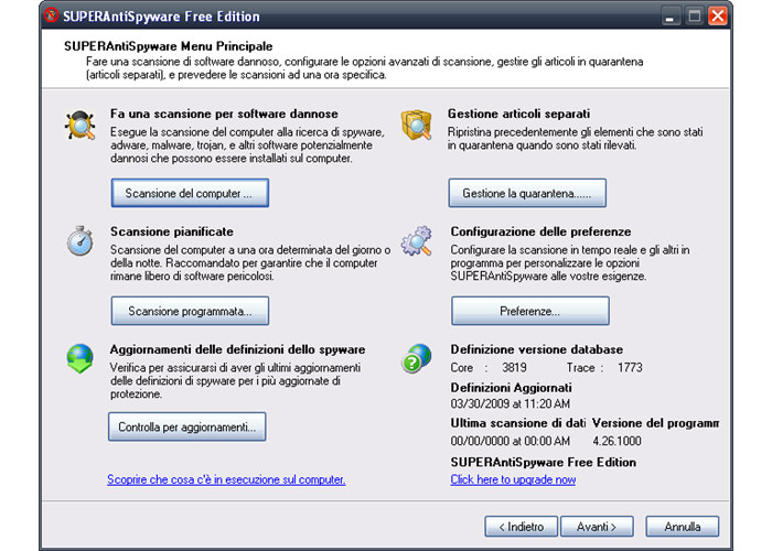 antispyware gratis italiano