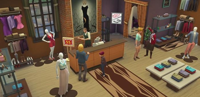 the sims 4 al lavoro download