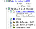 Screenshot 4 of Tour de France Plug-In 2008 per Google Earth