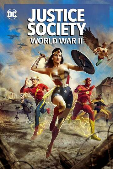 Poster of Justice Society: World War II